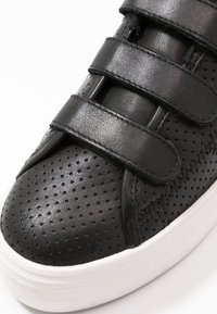 No Name - PLATO STRAPS - Sneakers laag - black/fox white - 2