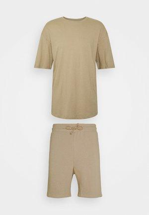 JORBRINK TEE CREW NECK SET - Basic T-shirt - crockery