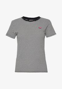 Levi's® - BABY TEE - Print T-shirt - aya stripe caviar - 3