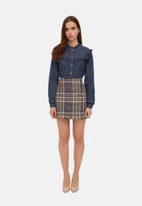 Motivi - Button-down blouse - blu - 1