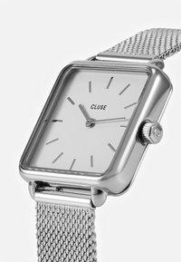 Cluse - LA TETRAGONE - Watch - silver-coloured/white - 4
