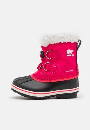 CHILDRENS YOOT PAC - Zimní obuv - bright rose