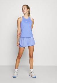 Nike Performance - DRY TANK - Sports shirt - royal pulse/white - 1