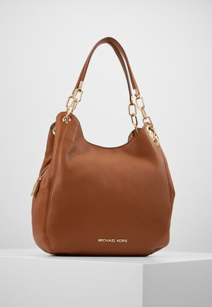 LILLIE CHAIN TOTESMALL - Kabelka - cognac