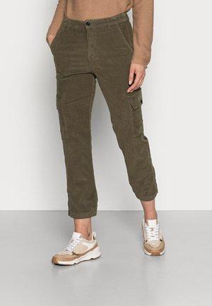 SEVENI - Cargo trousers - kalamata