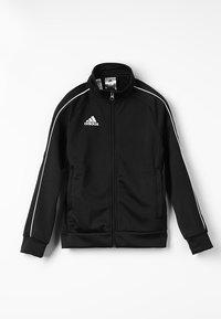 adidas Performance - CORE 18 FOOTBALL TRACKSUIT JACKET - Chaqueta de entrenamiento - black/white - 0