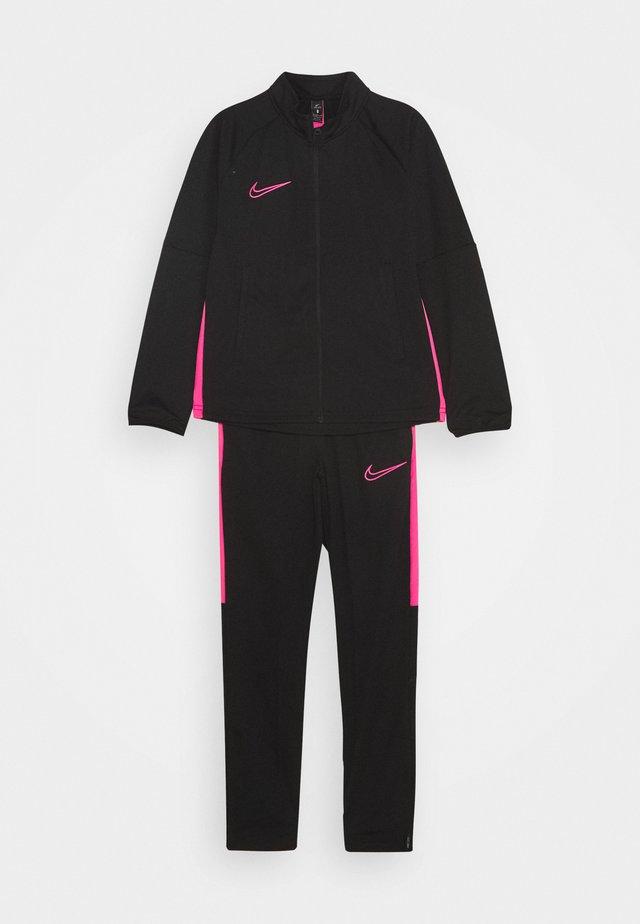 DRY ACADEMY SUIT - Trainingspak - black/hyper pink