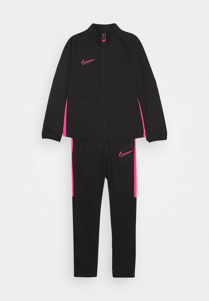 Nike Performance - DRY ACADEMY SET - Tepláková souprava - black/hyper pink