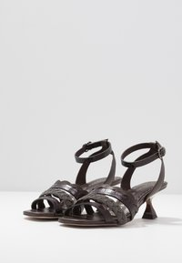 Pedro Miralles - Sandals - coco louisiana/marron nature testa - 4