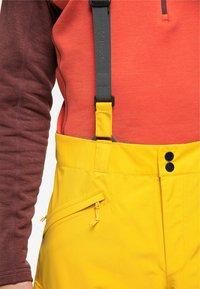 Haglöfs - LUMI LOOSE PANT - Snow pants - pumpkin yellow - 3
