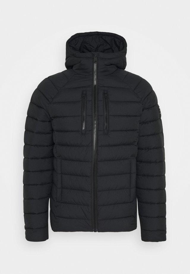 STADIUM JACKET MAN - Light jacket - black