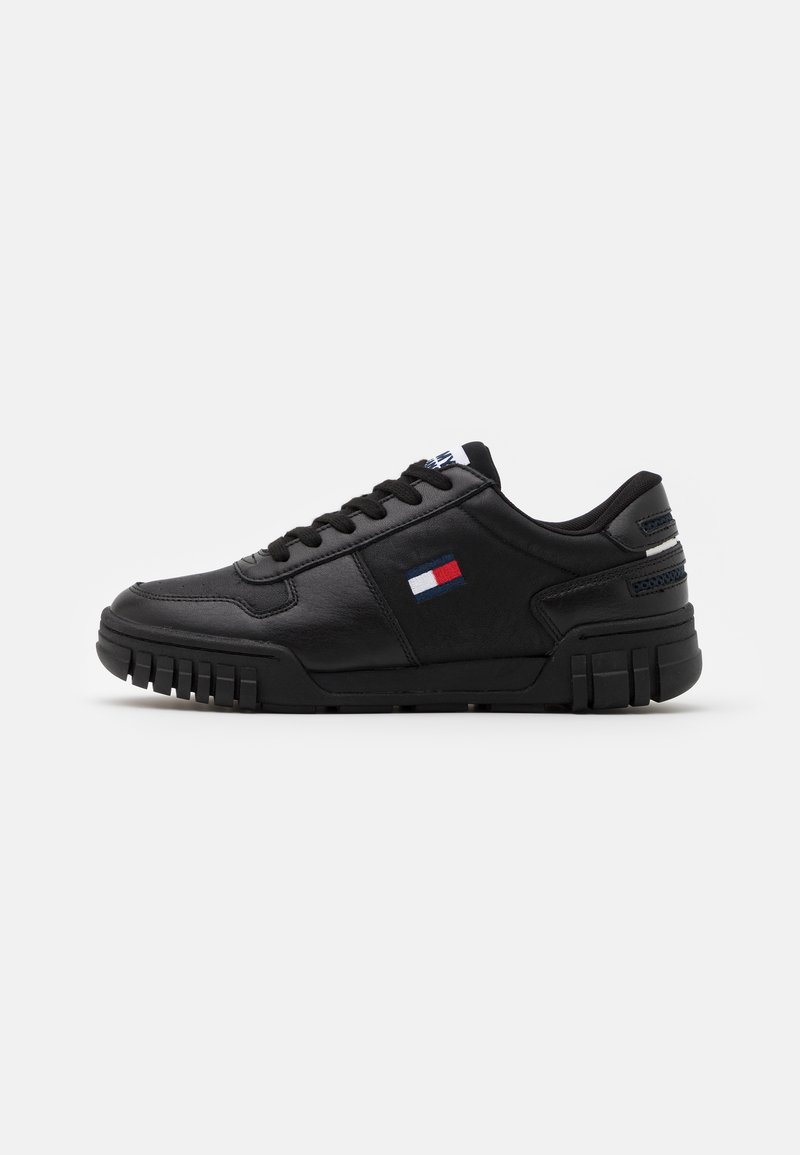 Tommy Jeans - RETRO - Baskets basses - black