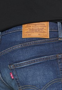 Levi's® - 502™ TAPER - Slim fit jeans - smoke stacked adv - 4