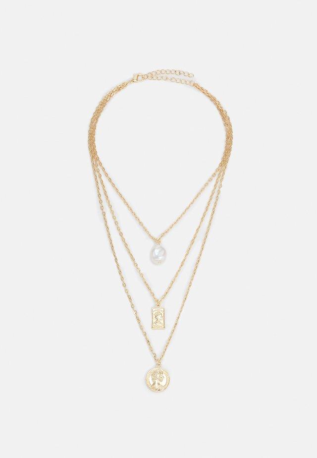 LAYERING BASIC NECKLACE UNISEX - Kaulakoru - gold-coloured