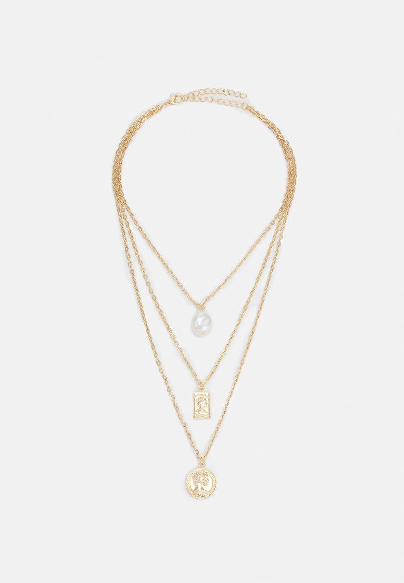 Urban Classics - LAYERING BASIC NECKLACE UNISEX - Necklace - gold-coloured