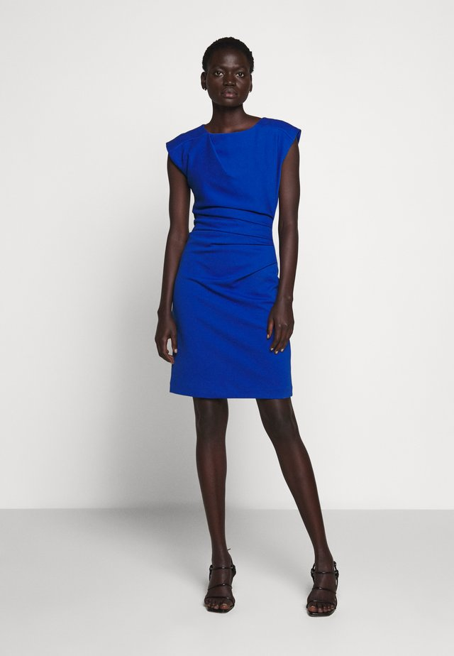MISTRETCH - Shift dress - berlin blue