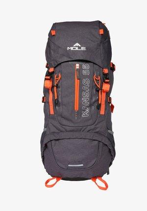 Hiking rucksack - dark grey melange