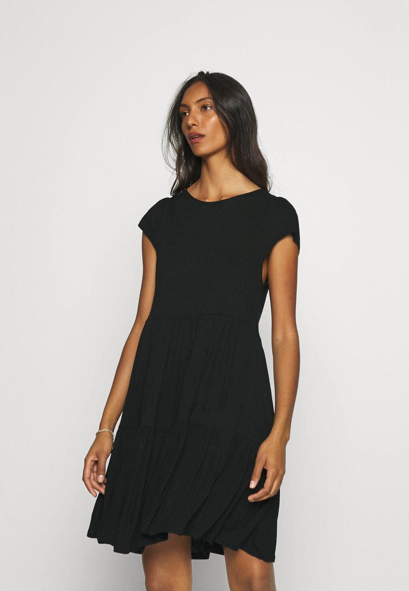 LASCANA - Jersey dress - schwarz
