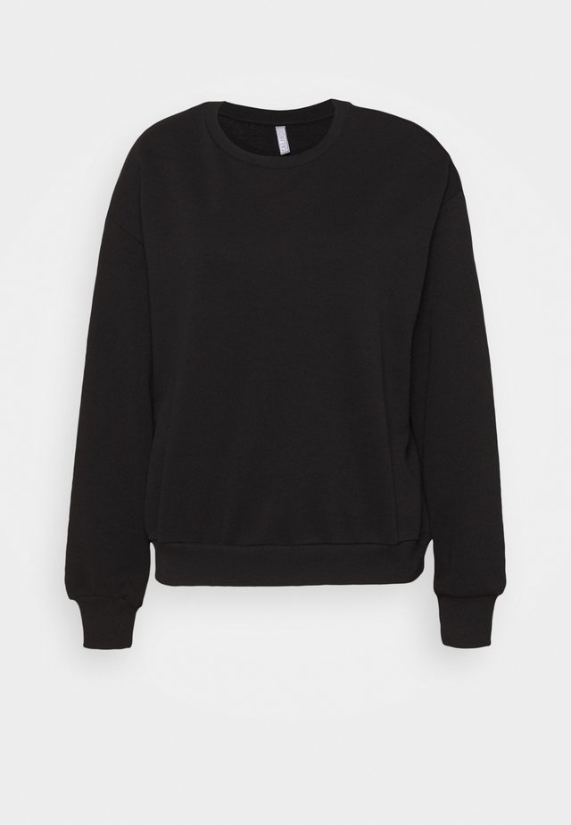 CREWNECK OVERSIZED - Sweater - black