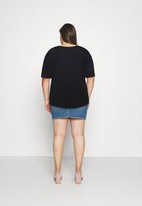 Anna Field Curvy - Jednoduché triko - black - 2