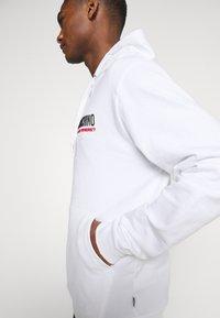 Moschino Underwear - HOODIE - Pyjamasoverdel - white - 3