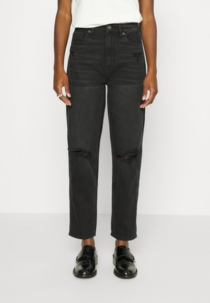 MOM - Jeans a sigaretta - faded black