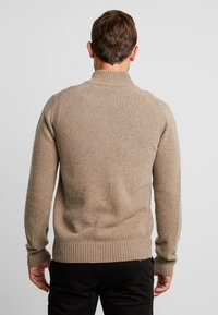 Marc O'Polo - TROYER ZIPPER - Jumper - sepia tint - 2