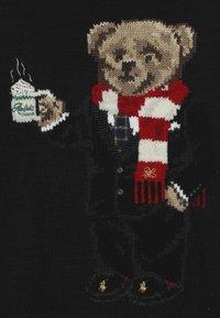 Polo Ralph Lauren - BEAR TOPS - Strickpullover - polo black - 4