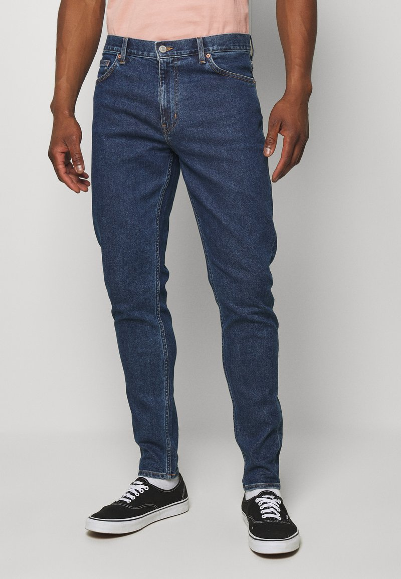 Weekday - CONE  - Jeans straight leg - blue medium dusty