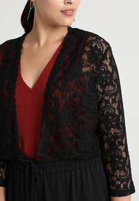 Anna Field Curvy - Strickjacke - black - 4