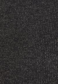 JDY - JDYEMMA PUFF SLEEVE  - Strikkegenser - dark grey melange - 2