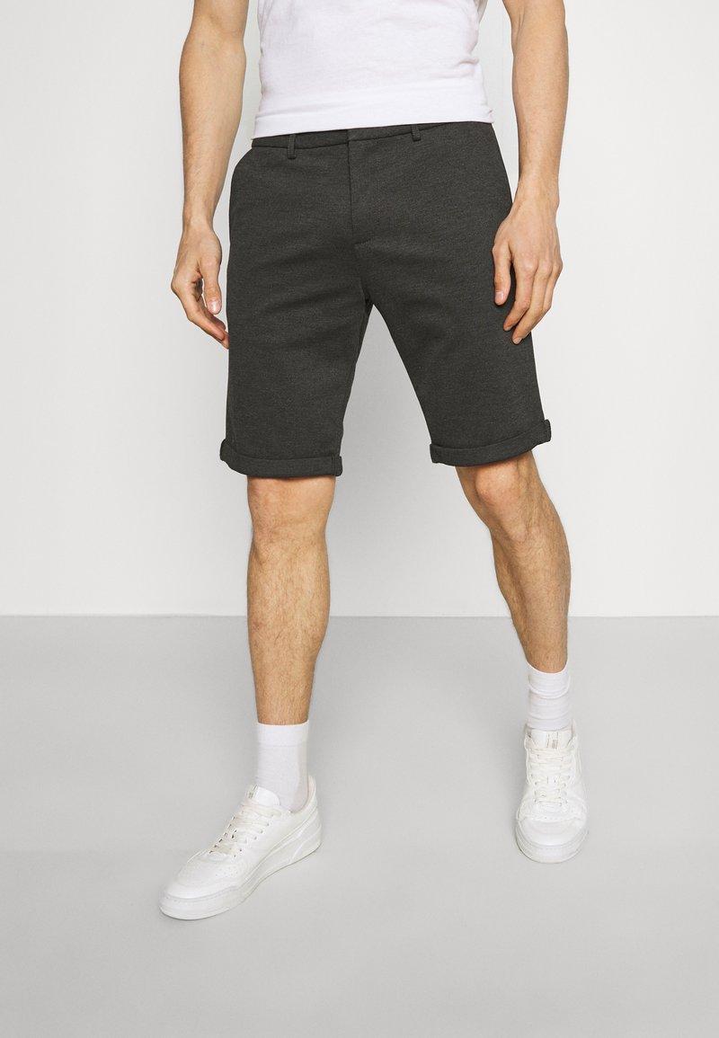 TOM TAILOR DENIM - Shorts - anthracite
