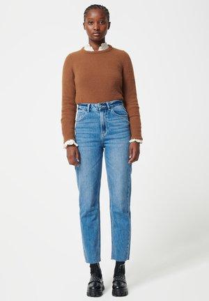 Jeansy Straight Leg - denimblau