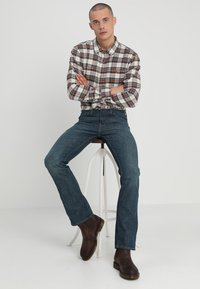 Levi's® - 527 LOW BOOT CUT - Jean bootcut - explorer - 1