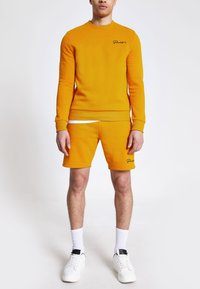 River Island - PROLIFIC MUSTARD - Sweatshirt - brown - 1