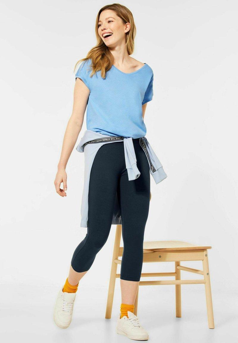 Cecil - Leggings - Trousers - blau