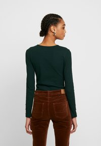 Even&Odd - BASIC BODYSUIT - Topper langermet - olive night - 2
