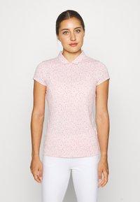 Puma Golf - CLOUDSPUN SPECKLE - Sports shirt - peachskin - 0