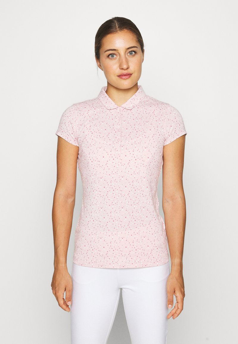 Puma Golf - CLOUDSPUN SPECKLE - Sports shirt - peachskin