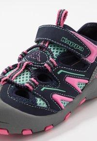 Kappa - REMINDER - Trekingové boty - grey/flamingo - 2