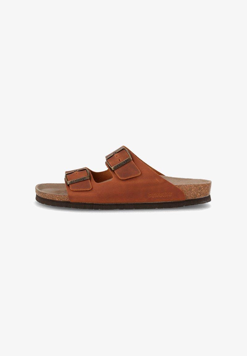 Genuins - HAWAII - Sandals - braun