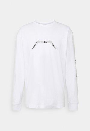 METALLICA LONG SLEEVE - Long sleeved top - white
