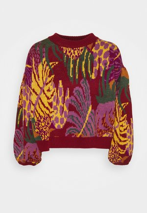 GRAPHIC JUNGLE SWEATER - Jumper - multi