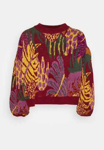GRAPHIC JUNGLE SWEATER