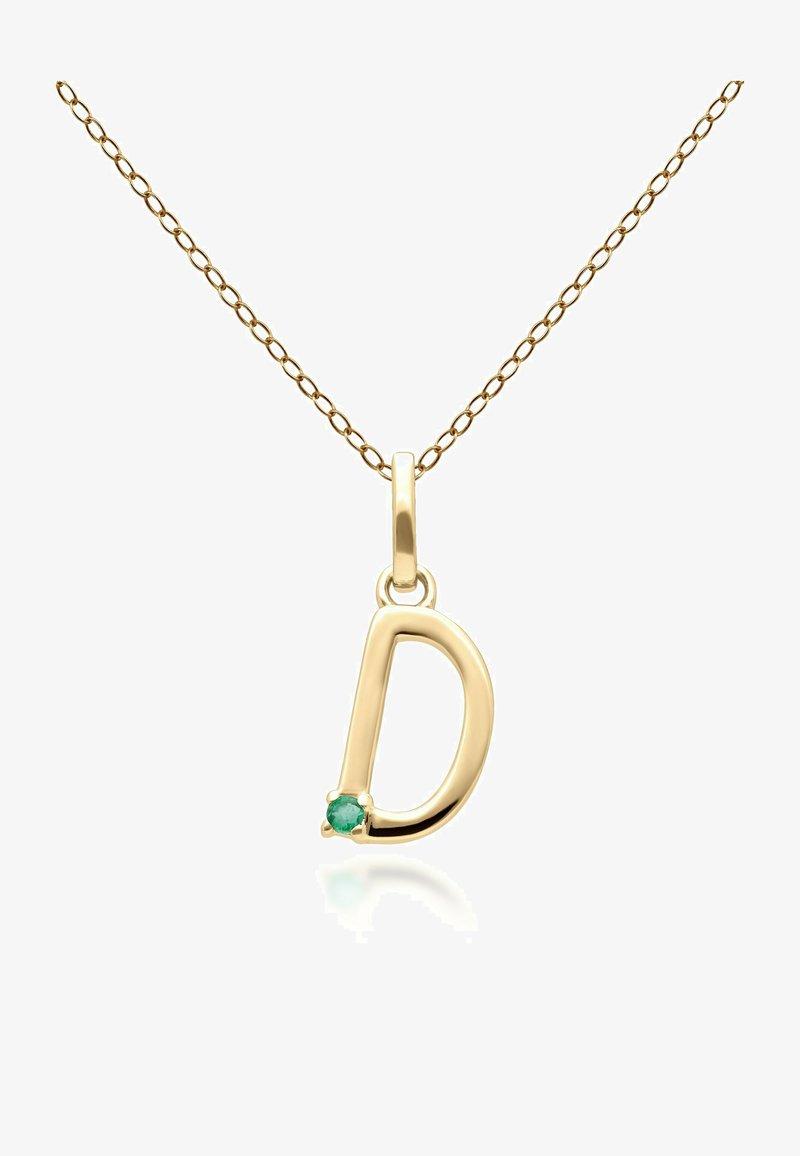 Gemondo - INITIAL D  - Necklace - green
