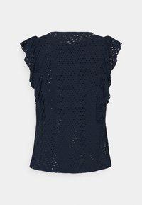 Vero Moda - VMLEAH - T-shirt med print - navy blazer - 1