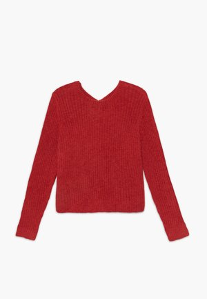 BACK DETAIL MATCH - Maglione - red