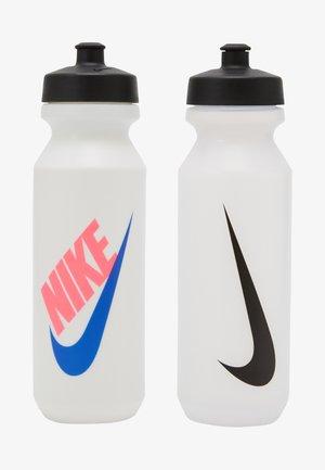 BIG MOUTH BOTTLE 2 PACK UNISEX - Drink bottle - clear/black/black/ white/black/hyper pink/racer blue
