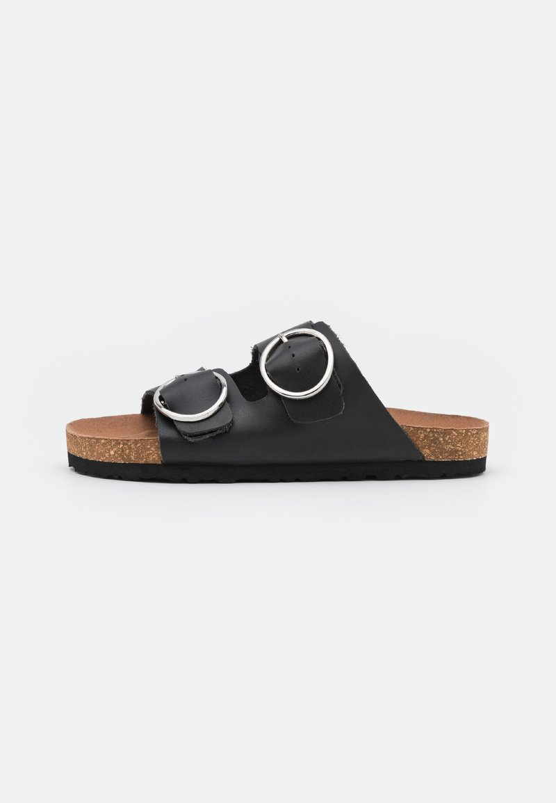 Simply Be - WIDE FIT ABBIE - Mules - black