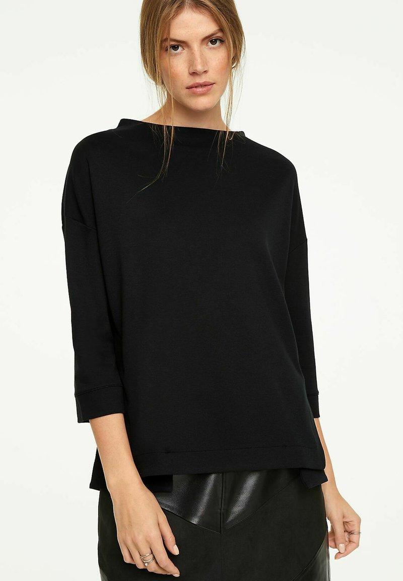 comma - Sweatshirt - black